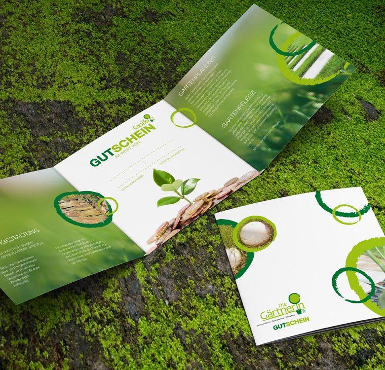 Gestaltung & Druck Folder