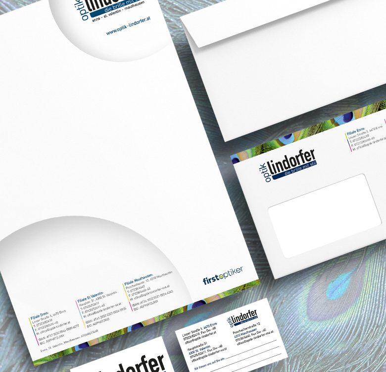 Gestaltung & Druck Geschäftsdrucksorten