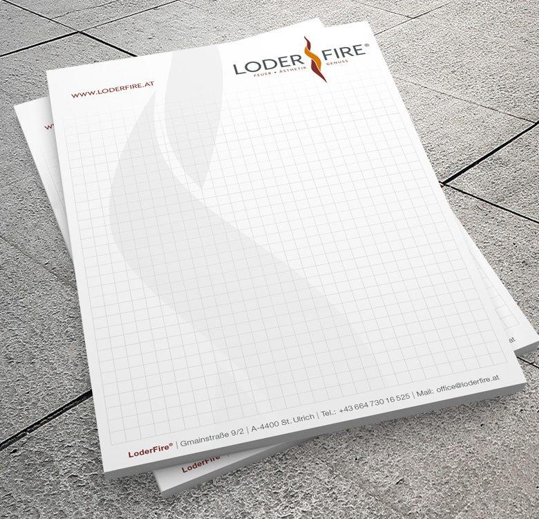 Gestaltung & Druck Schreibblöcke