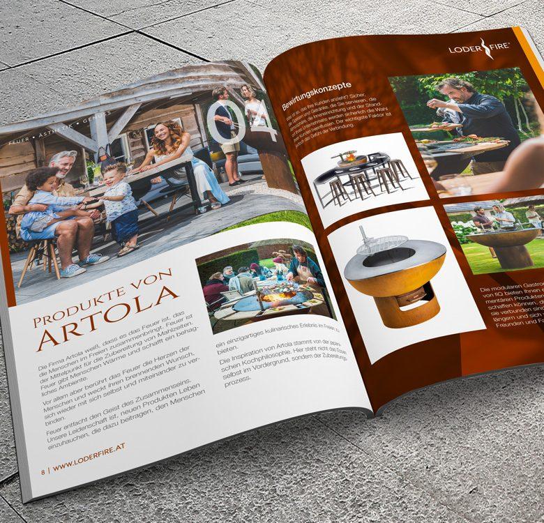 Gestaltung & Druck Katalog