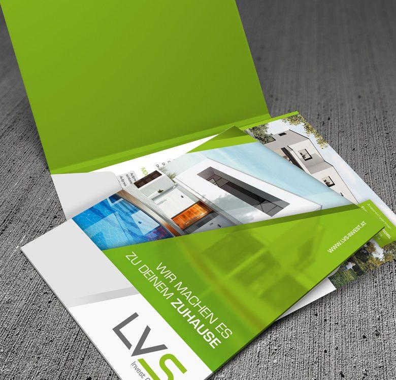Gestaltung & Druck Dokumentenmappe