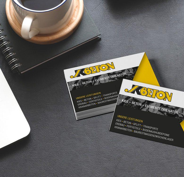 Gestaltung & Druck Visitenkarten