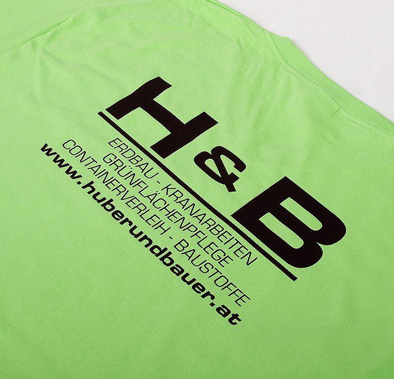 T-Shirt Flexdruck