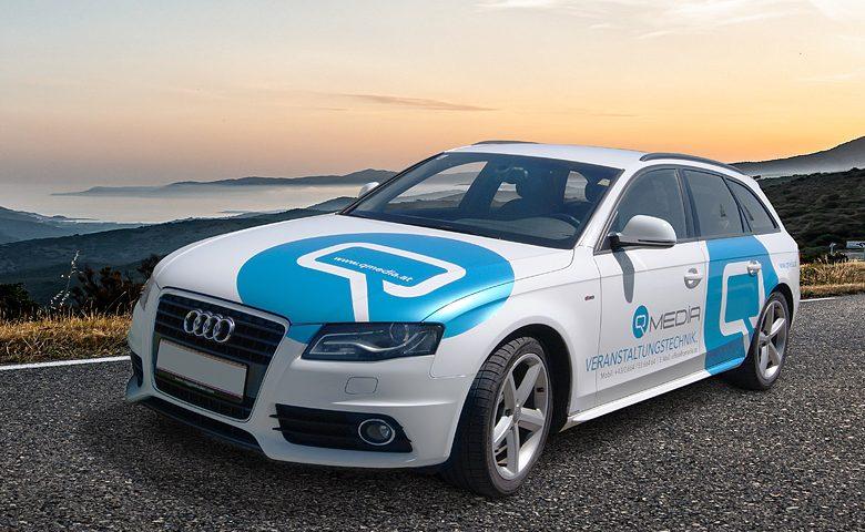Audi Beklebung