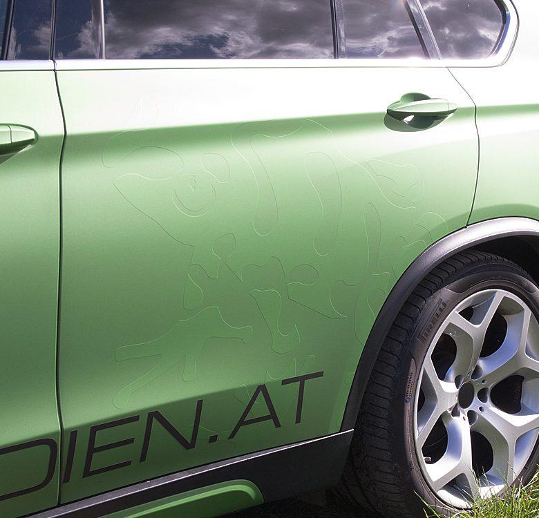 BMW Vollfolierung